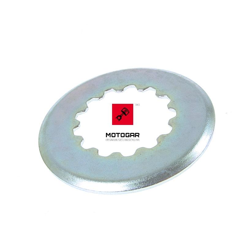 0916722012 Zabezpieczenie zębatki zdawczej Suzuki LTF 160 Quadrunner 2003-2007