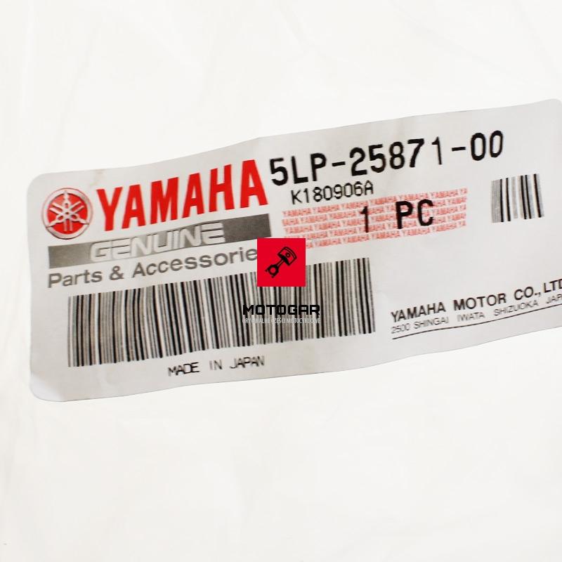 5LP2587100 Przewód hamulcowy Yamaha YFM 660 2001-2005 przedni główny