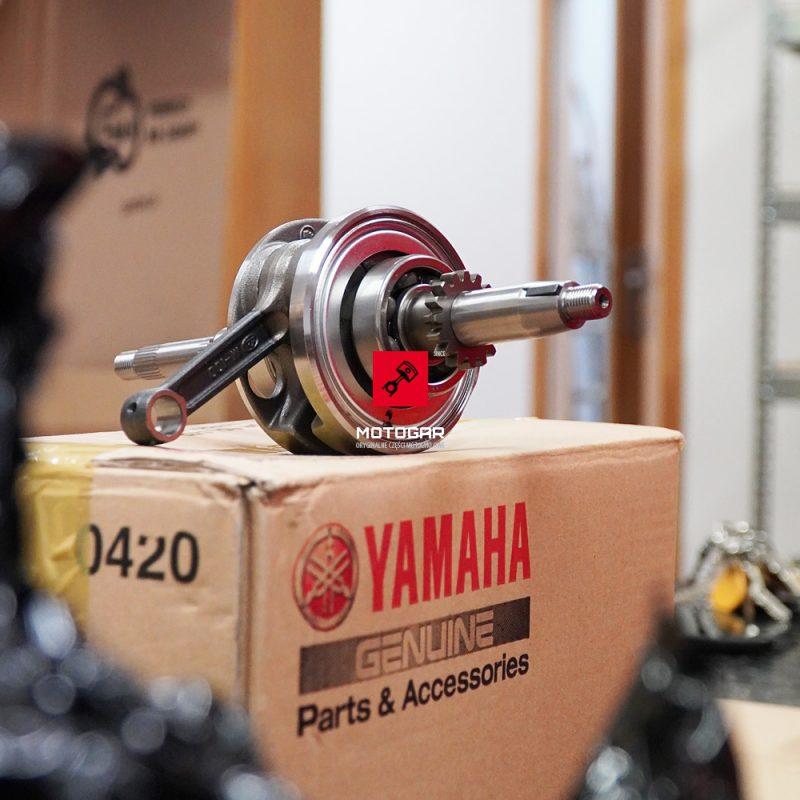 43DE140000 Wał korbowy Yamaha YFM 90 2009-2013 2