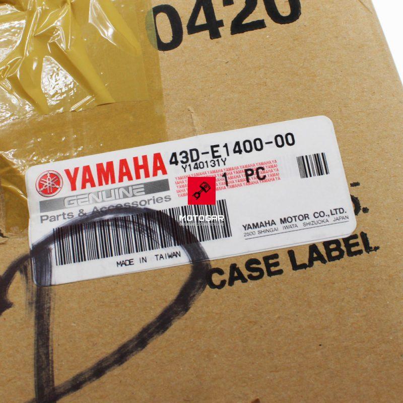 43DE140000 Wał korbowy Yamaha YFM 90 2009-2013 3