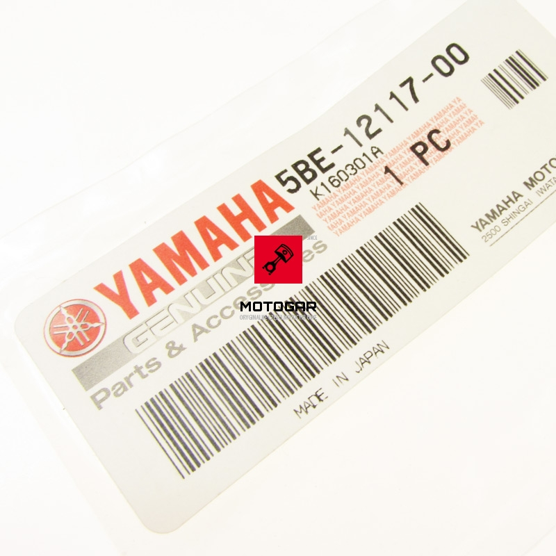 5BE121170000 Miska sprężyny zaworowej Yamaha YFZ 450 2004-2019 górna