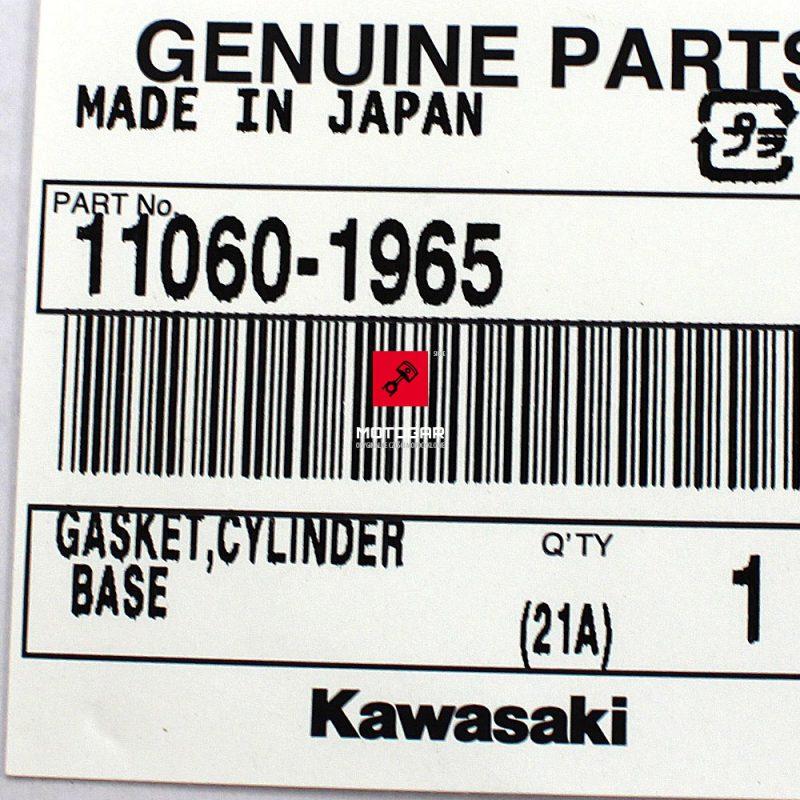 110601965 Uszczelka pod cylinder cylindra Kawasaki KVF 650 KFX 700