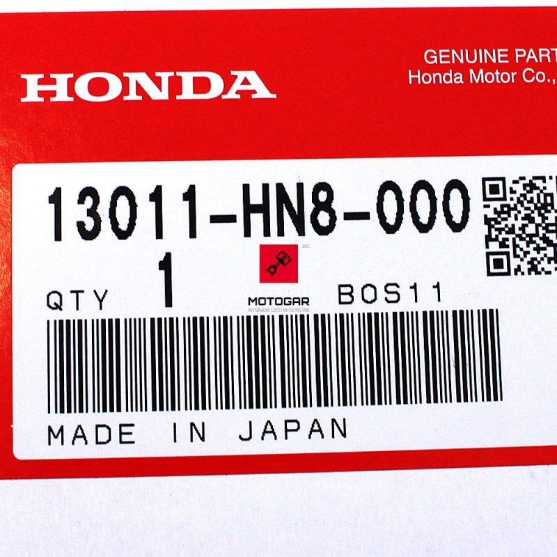 13011HN8000 Pierścienie tłokowe Honda TRX 650 Fourtrax 2003 2004 2005 nominał