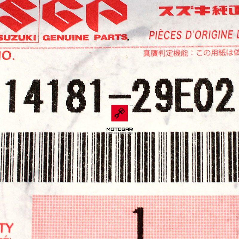 1418129E02 Uszczelka wydechu kolektora Suzuki LTZ 400 LTA 700 750