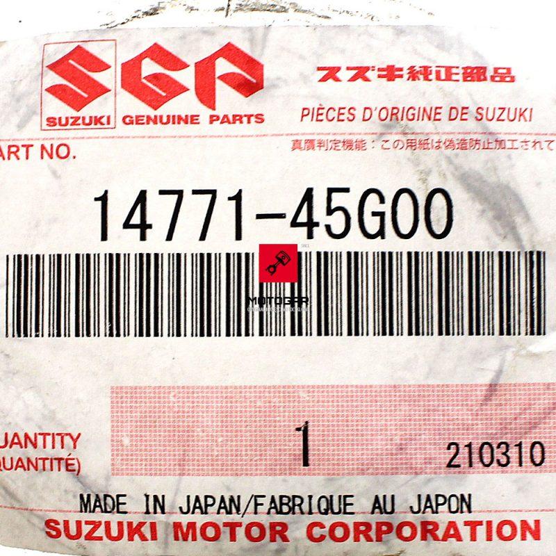 1477145G00 Uszczelka tłumika wydechu Suzuki LTA 700 750 Kinquad