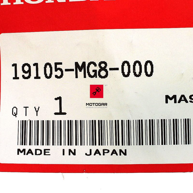 19105MG8000 Korek zbiornika wyrównawczego Honda TRX 500 650 680 Fourtrax Foreman