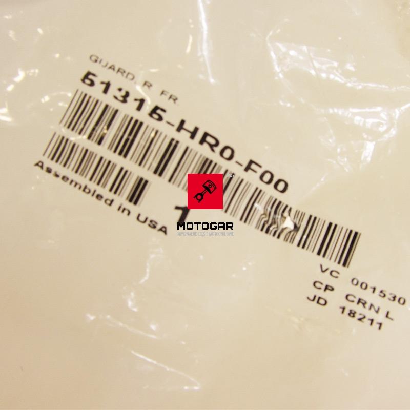 51315HR0F00 osłona wahacza przedniego Honda TRX 420 500 Fourtrax Rancher Foreman